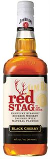 Jim Beam Bourbon Red Stag Black Cherry 1.00l